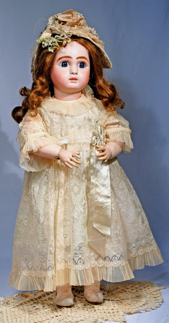 267.  BEAUTIFUL LARGE STEINER FRENCH BISQUE BEBE WITH