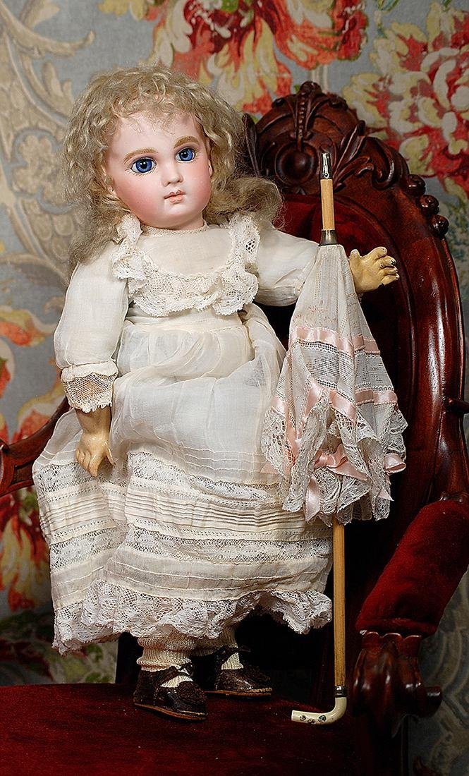 """PRECIOUS FRENCH BISQUE """"INCISED DEPOSE"""" BEBE BY EMILE"""
