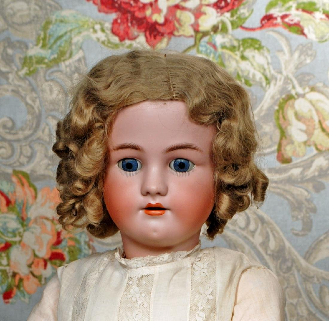 LARGE GERMAN BISQUE DOLL BY HANDWERCK Marks: Germany, - 2