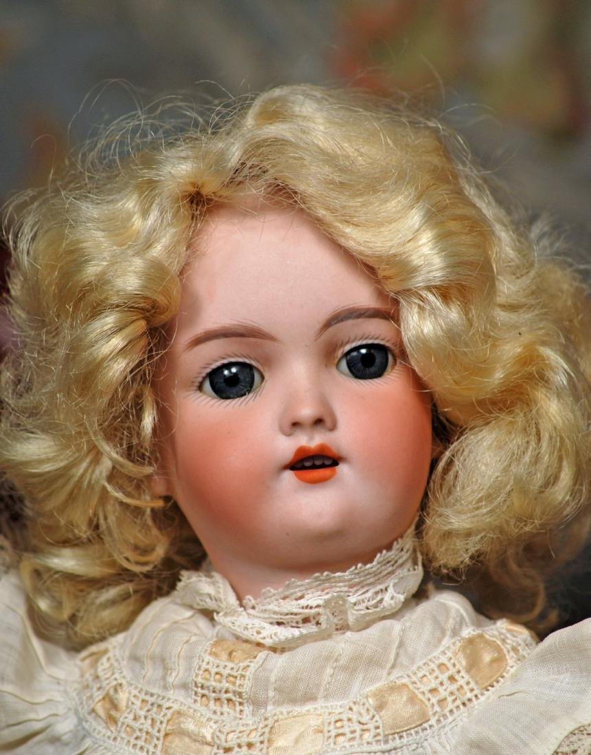 GERMAN BISQUE DOLL BY HANDWERCK Marks: 109 - 6 Germany - 3