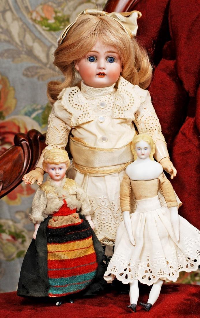 PETITE GERMAN BISQUE CHILD BY KESTNER Marks: Made in