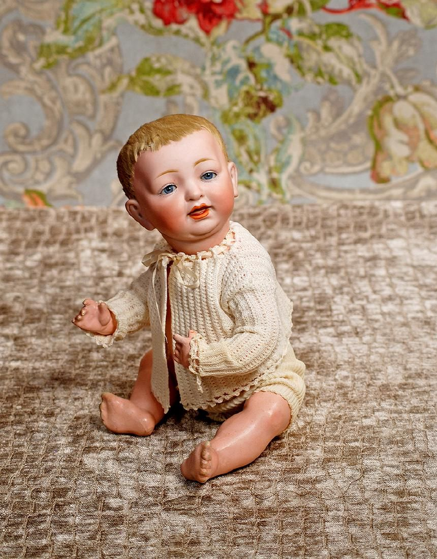 GERMAN BISQUE CHARACTER BABY BY KESTNER WITH ORIGINAL