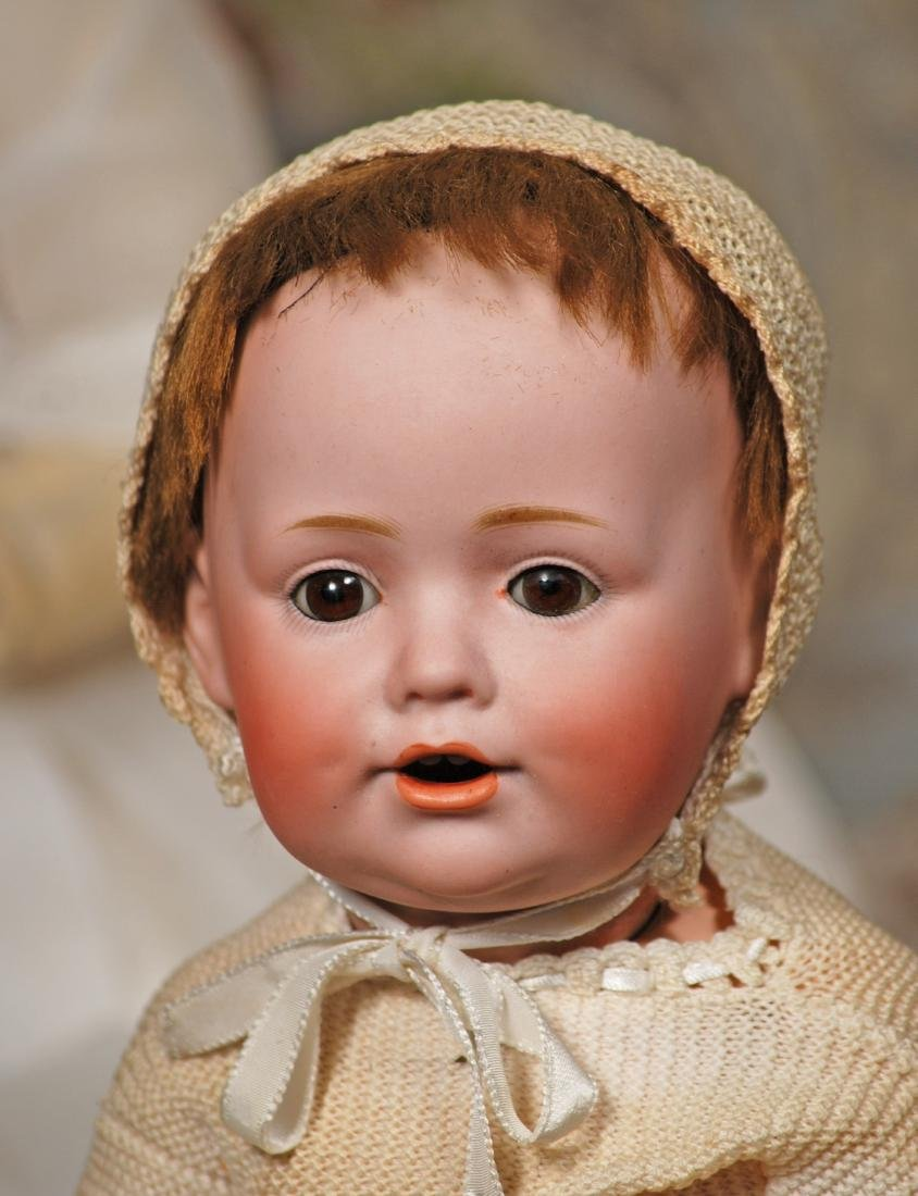 GERMAN BISQUE CHARACTER BABY, 247, BY KESTNER Marks: G. - 2