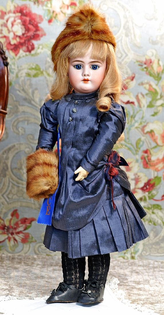 GERMAN BISQUE DOLL BY HANDWERCK Marks: 11, 99 Dep
