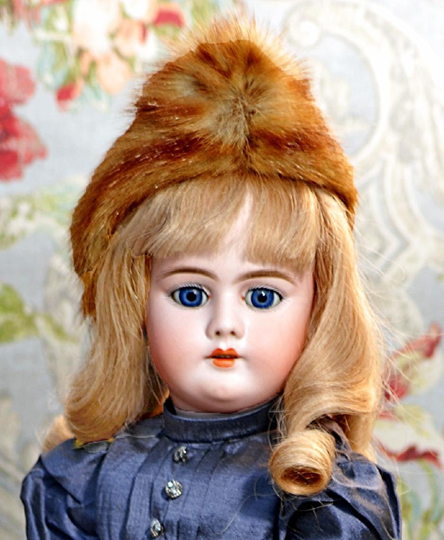 GERMAN BISQUE DOLL BY HANDWERCK Marks: 11, 99 Dep - 2