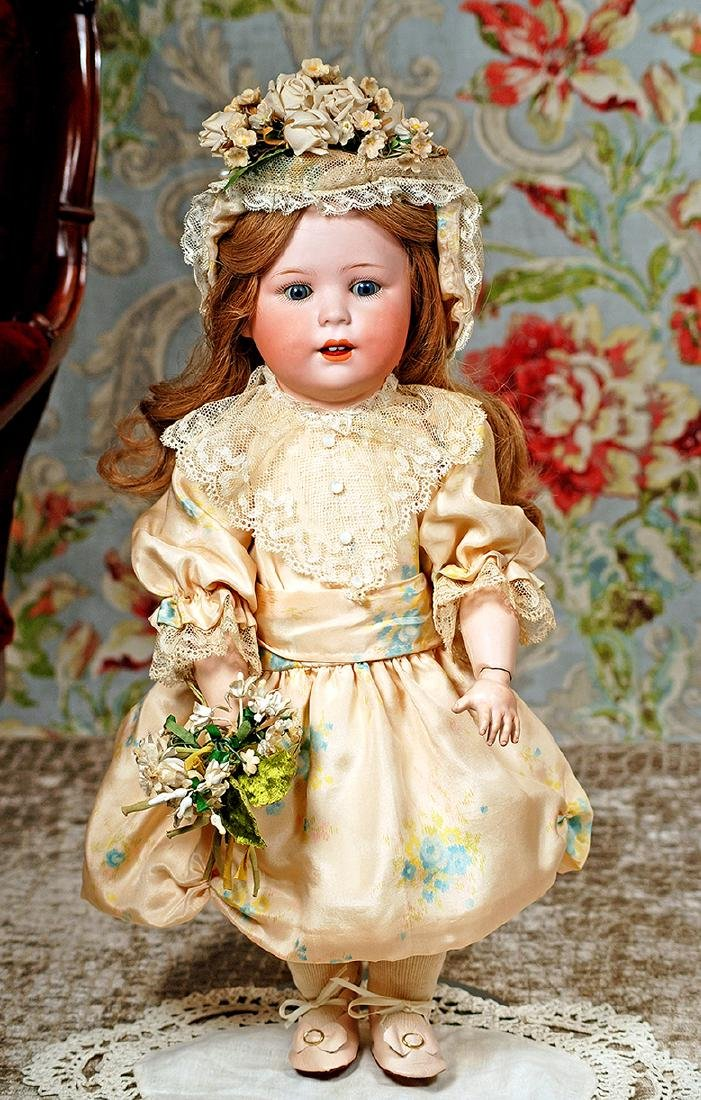 "GERMAN BISQUE ""JUTTA"" TODDLER BY CUNO & OTTO DRESSEL"