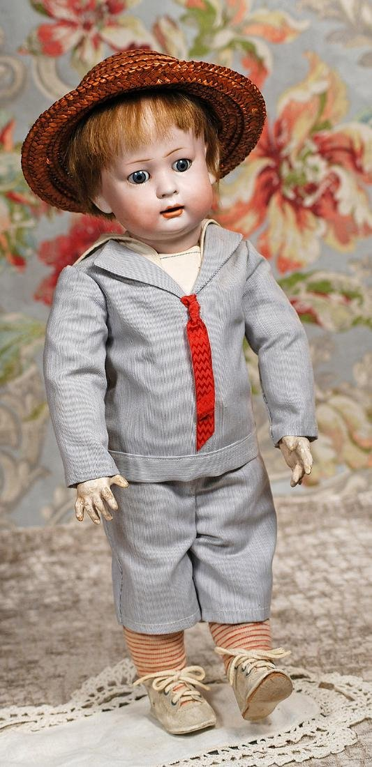 GERMAN BISQUE CHARACTER TODDLER BY KONIG & WERNICKE
