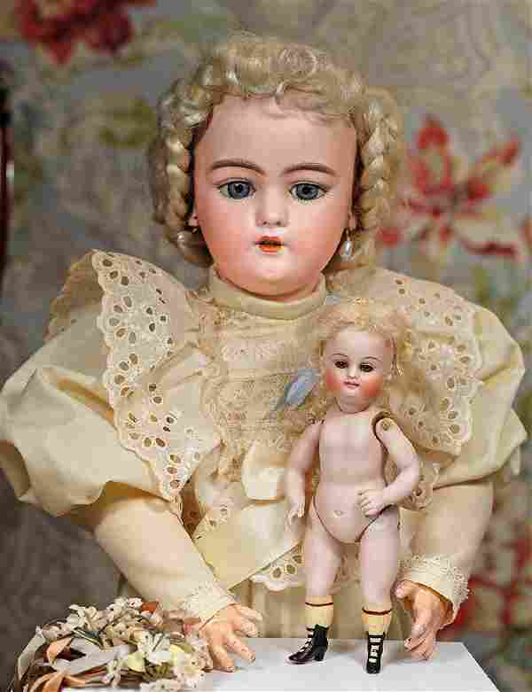 GERMAN BISQUE DOLL BY SIMON & HALBIG Marks: 1079 S & H