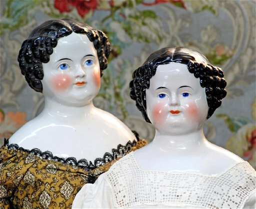 Large German Porcelain China Doll 29 Porcelain Oct 29 2017 Frasher S Doll Auction In Mo