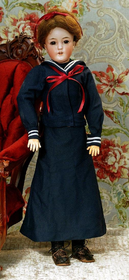 SIMON & HALBIG'S LADY DOLL IN MARINER COSTUME Marks: