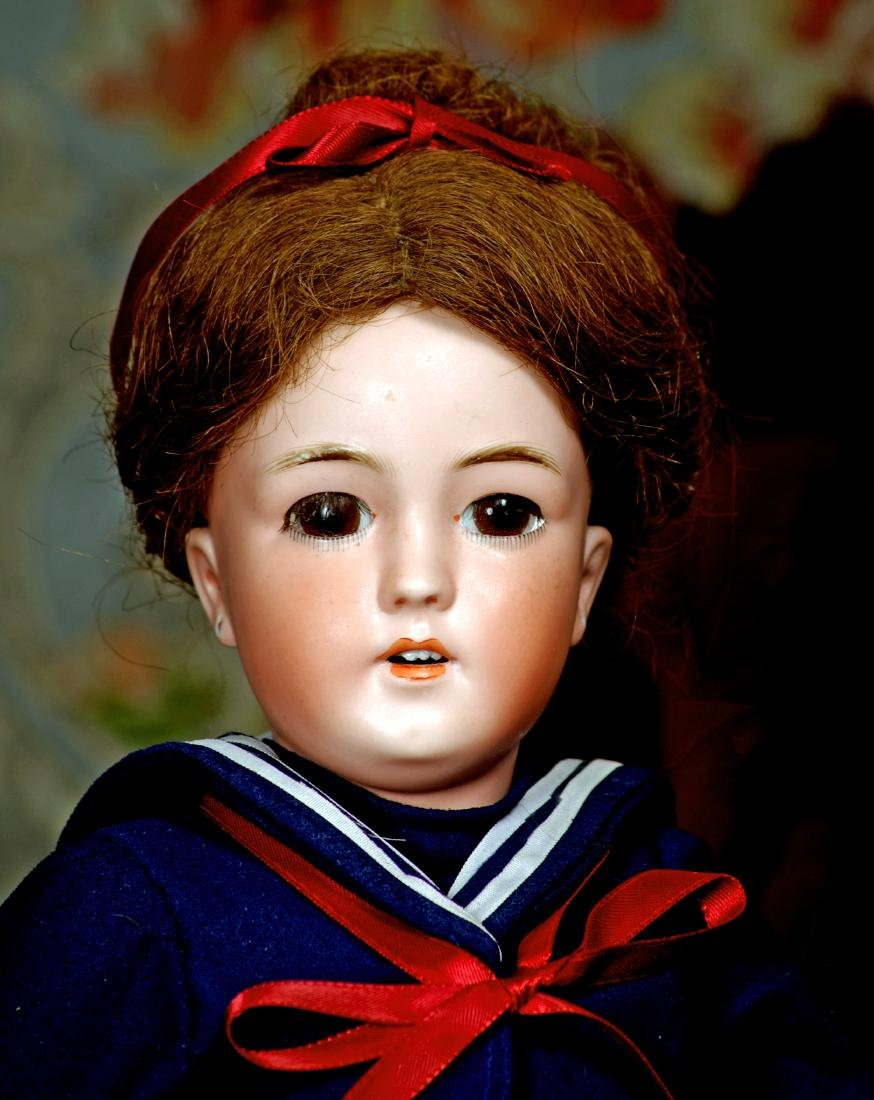 SIMON & HALBIG'S LADY DOLL IN MARINER COSTUME Marks: - 2