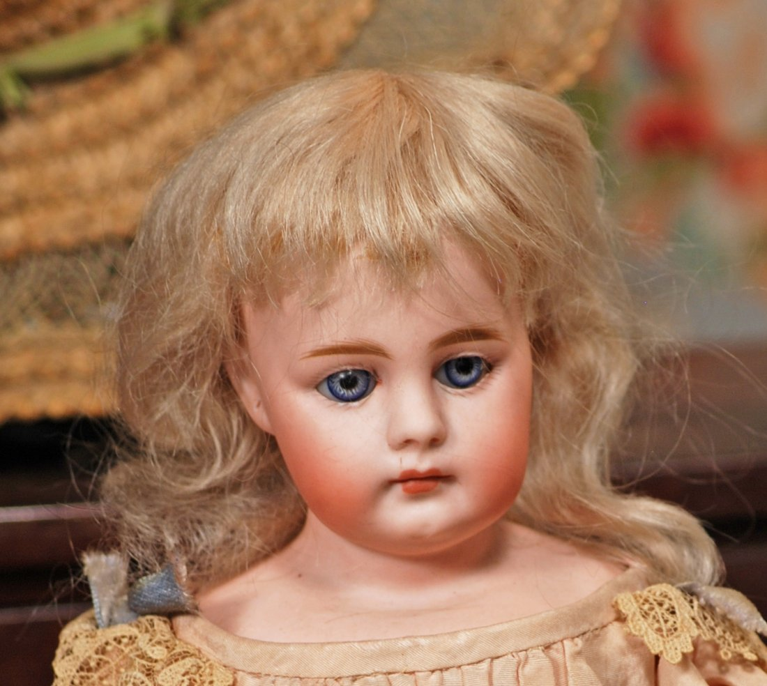 GERMAN BISQUE CLOSED-MOUTH DOLL, MYSTERY MAKER Marks: - 2