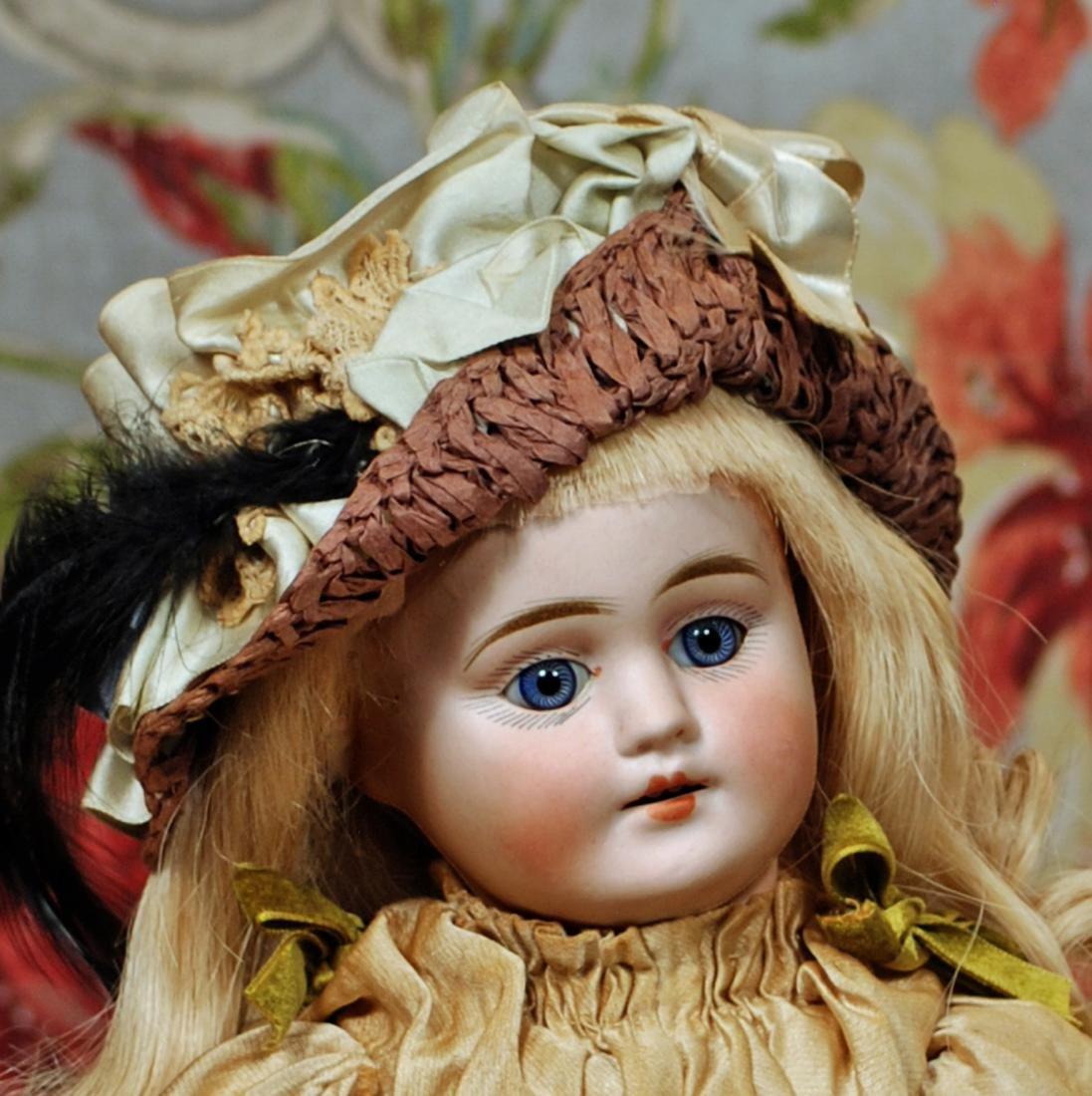 "GERMAN BISQUE DOLL BY MYSTERY MAKER 15"" Bisque socket - 2"