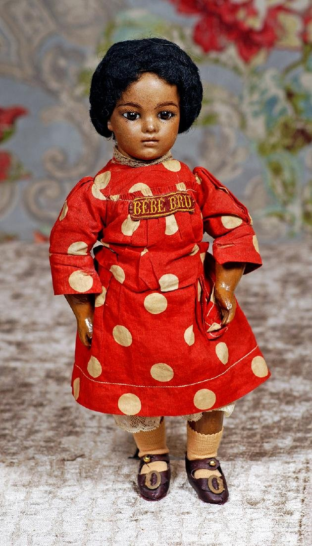 FRENCH BROWN BISQUE BRU BEBE, SIZE 2, BY LEON CASIMIR
