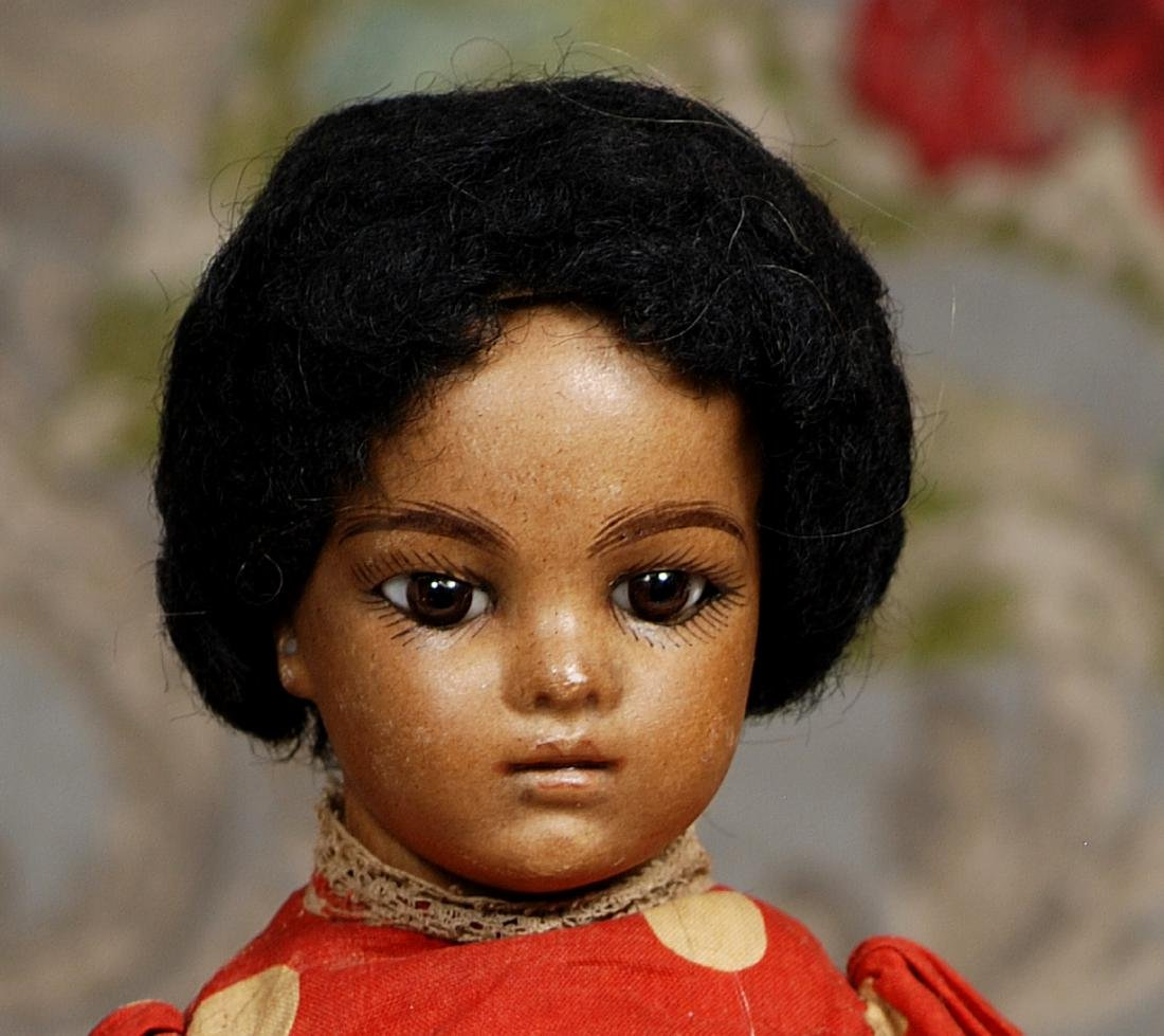FRENCH BROWN BISQUE BRU BEBE, SIZE 2, BY LEON CASIMIR - 2