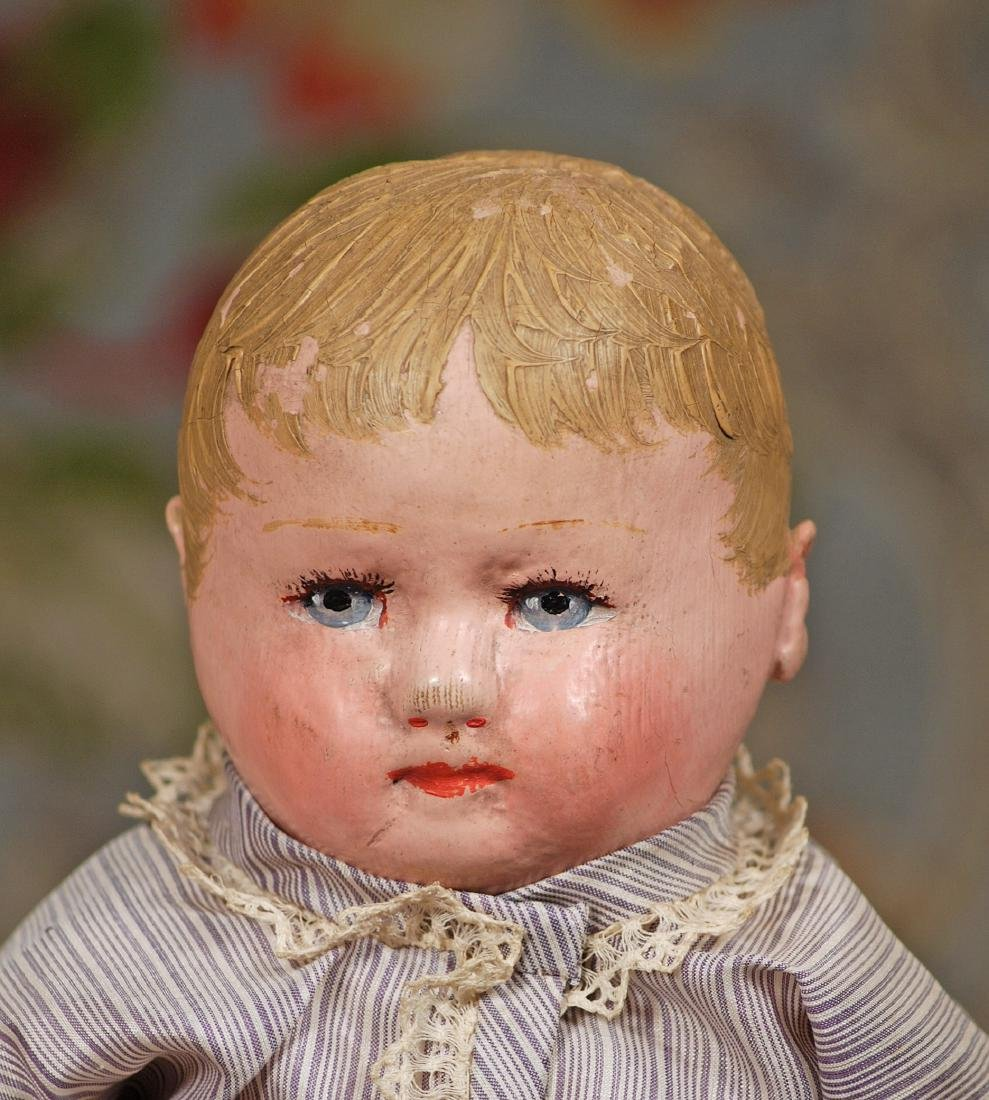 """AMERICAN CLOTH DOLL BY MARTHA CHASE 12 ½"""" Stockinette - 2"""