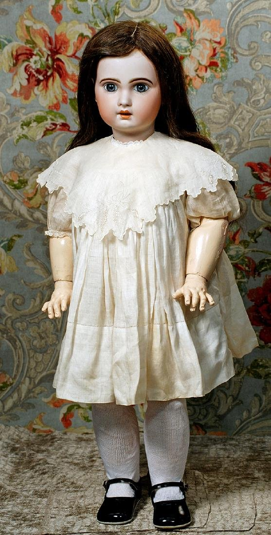 FRENCH BISQUE BEBE 1907 BY JUMEAU Marks: 1907 (incised);