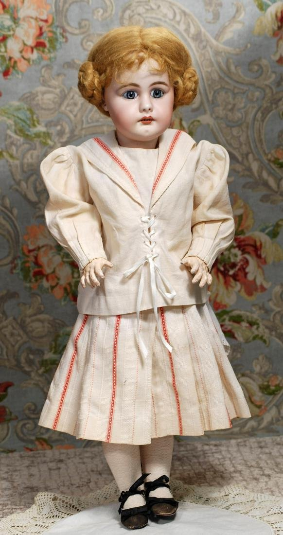 GERMAN BISQUE DOLL, 949, BY SIMON & HALBIG. Marks: S 14