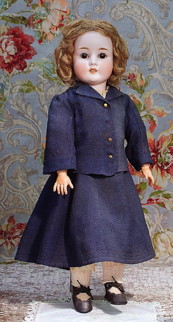 GERMAN BISQUE DOLL BY SCHONEAU & HOFFMEISTER Marks: S