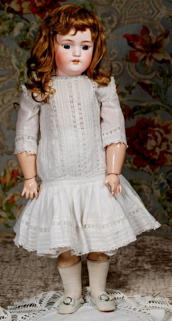 GERMAN BISQUE DOLL BY SIMON & HALBIG