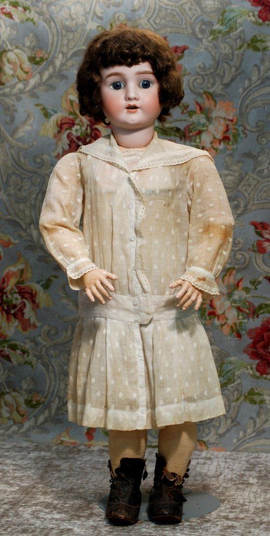LARGE GERMAN BISQUE CHILD BY SCHOENAU & HOFFMEISTER