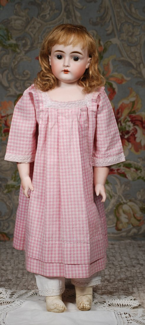 GERMAN BISQUE CHILD DOLL BY KESTNER