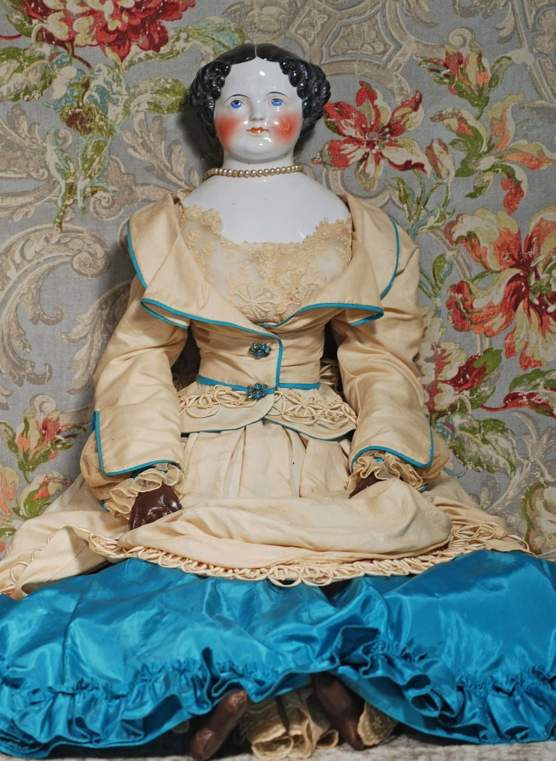 LARGE, 36-INCH CHINA LADY.