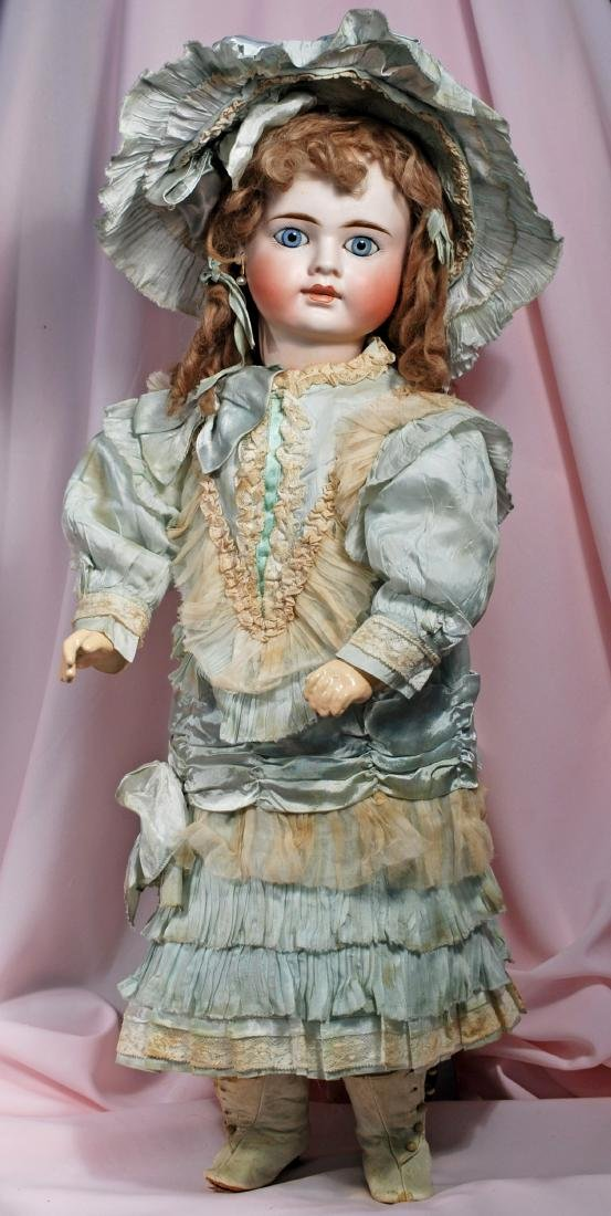 "9. RARE, SONNEBERG BISQUE DOLL WITH ""BRU LOOK"" FOR THE - 2"