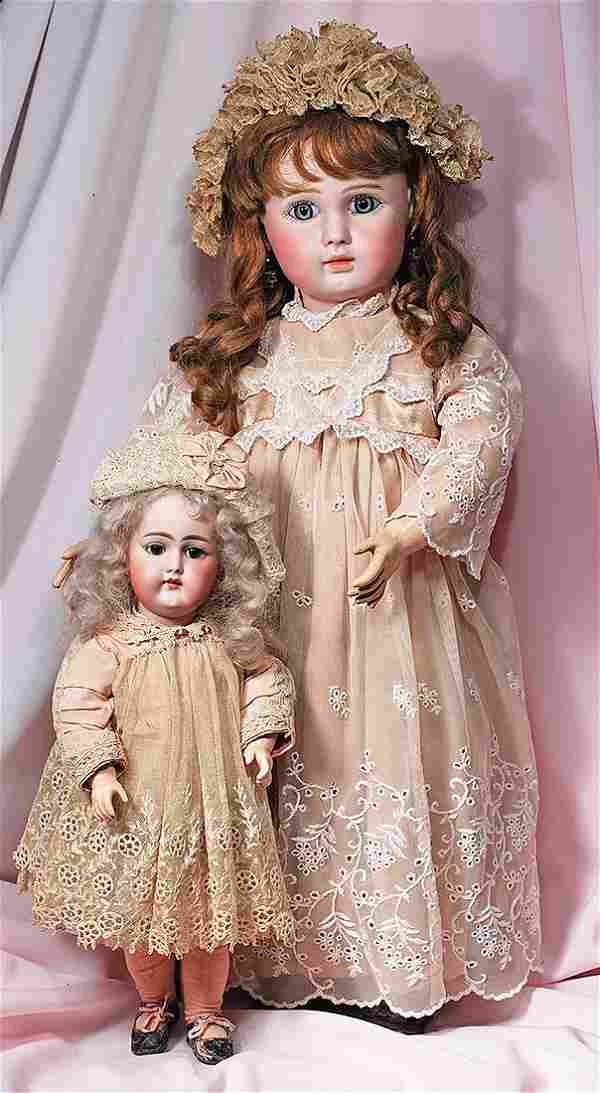 . VERY RARE GERMAN BISQUE, MOLD 89, CLOSED-MOUTH DOLL