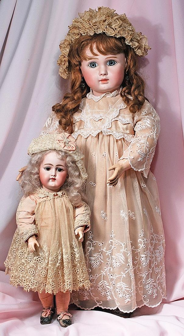 13. VERY RARE GERMAN BISQUE, MOLD 89, CLOSED-MOUTH DOLL