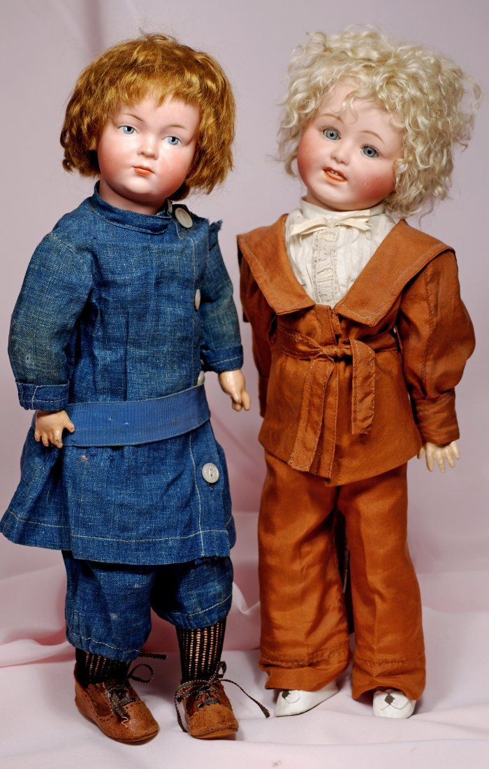 20. RARE GERMAN BISQUE ART CHARACTER, 526, BY KLEY &