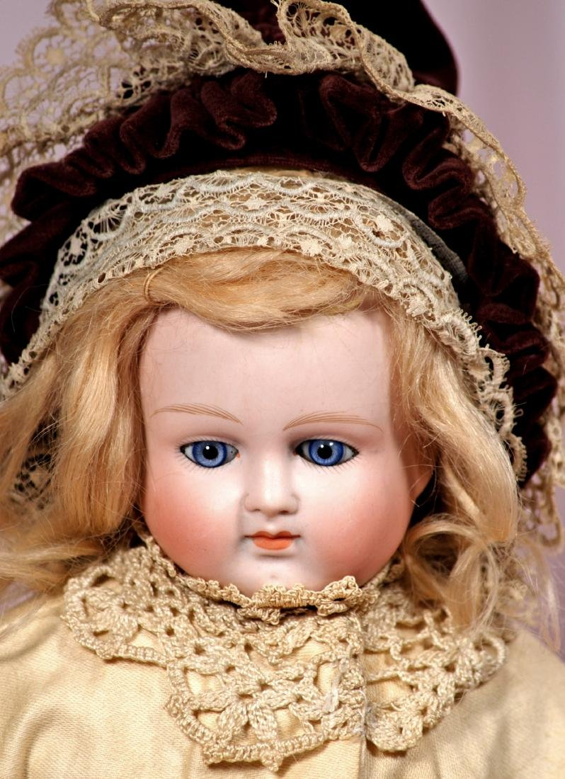 34. GERMAN BISQUE CLOSED-MOUTH DOLL BY ALT, BECK &