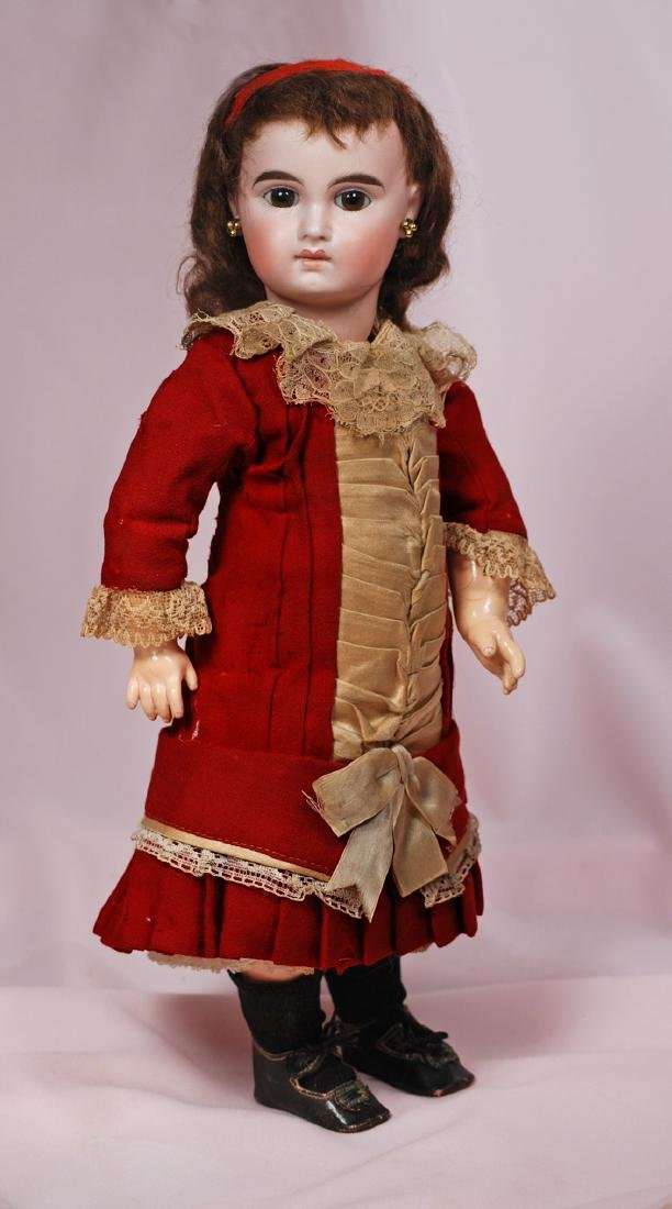 """64. GERMAN BISQUE """"W.D."""" FRENCH-TYPE DOLL BY WILLIAM"""
