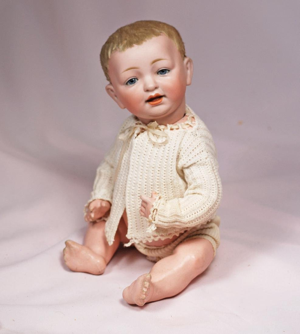 66. GERMAN BISQUE CHARACTER BABY BY KESTNER WITH