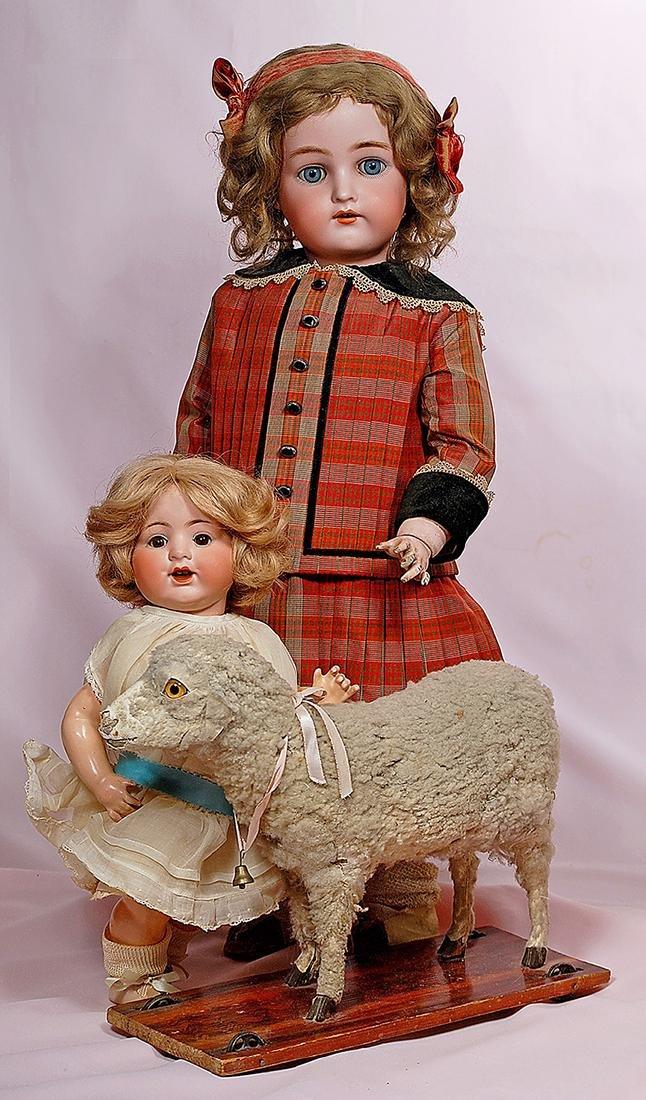 119. GERMAN BISQUE CHILD BY KAMMER & REINHARDT. Marks: