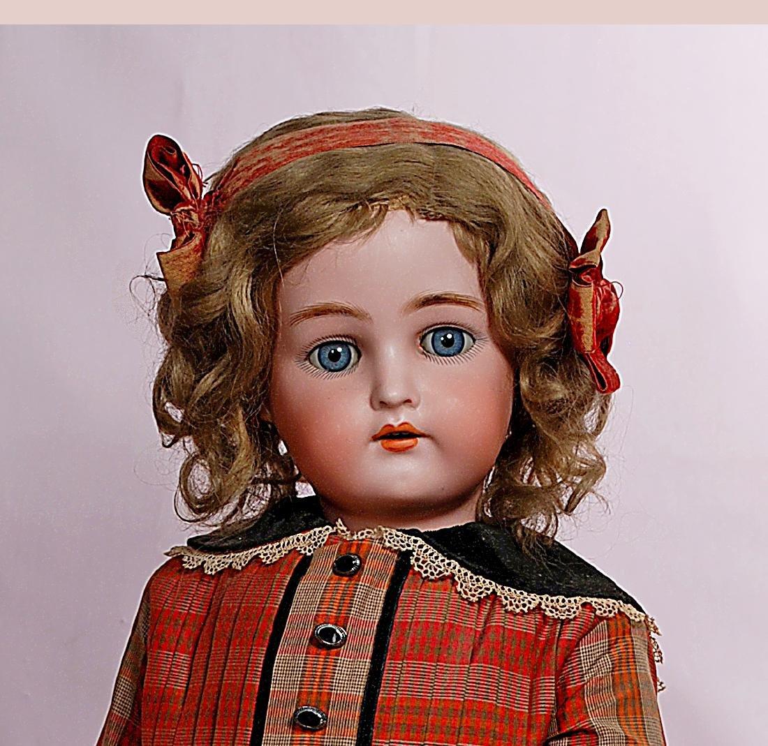119. GERMAN BISQUE CHILD BY KAMMER & REINHARDT. Marks: - 2