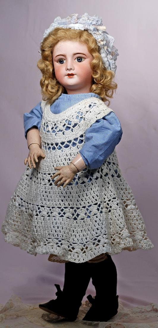 131. FRENCH BISQUE DOLL BY S.F.B.J. Marks: SFBJ