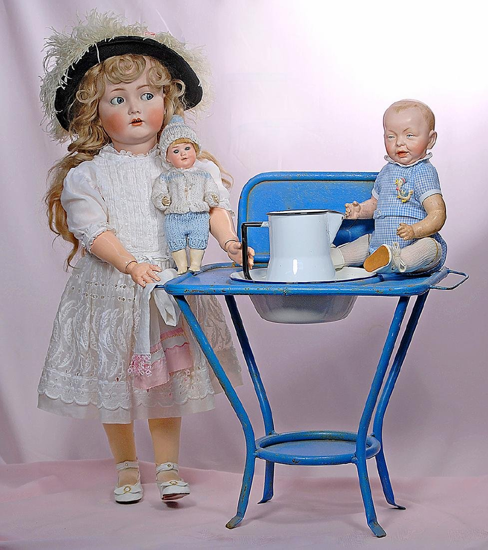 139. GERMAN BISQUE CHARACTER BABY BY KAMMER &