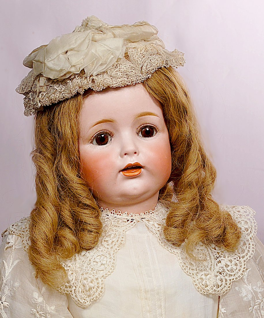 152. LARGE GERMAN BISQUE CHARACTER CHILD, J.D.K. 260,