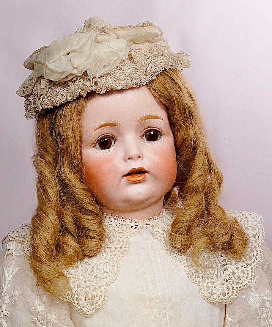 152. LARGE GERMAN BISQUE CHARACTER CHILD, J.D.K. 260,