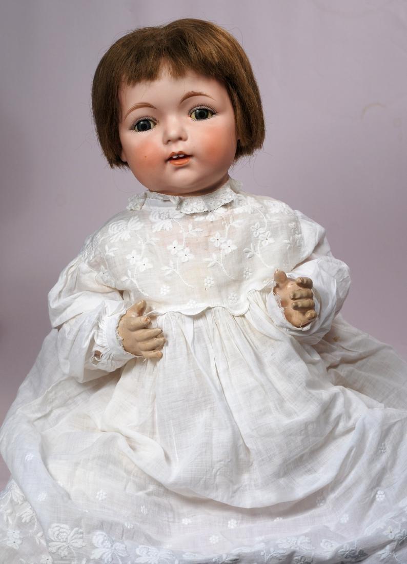 235. BISQUE CHARACTER BABY BY FULPER. Marks: Fulper