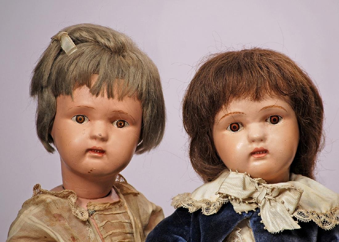 236. TWO SCHOENHUT DOLLS, TWO CLOWNS & PIANO. Dolls - 3