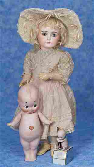 . VERY BEAUTIFUL CLOSED-MOUTH DOLL BY KESTNER. Marks
