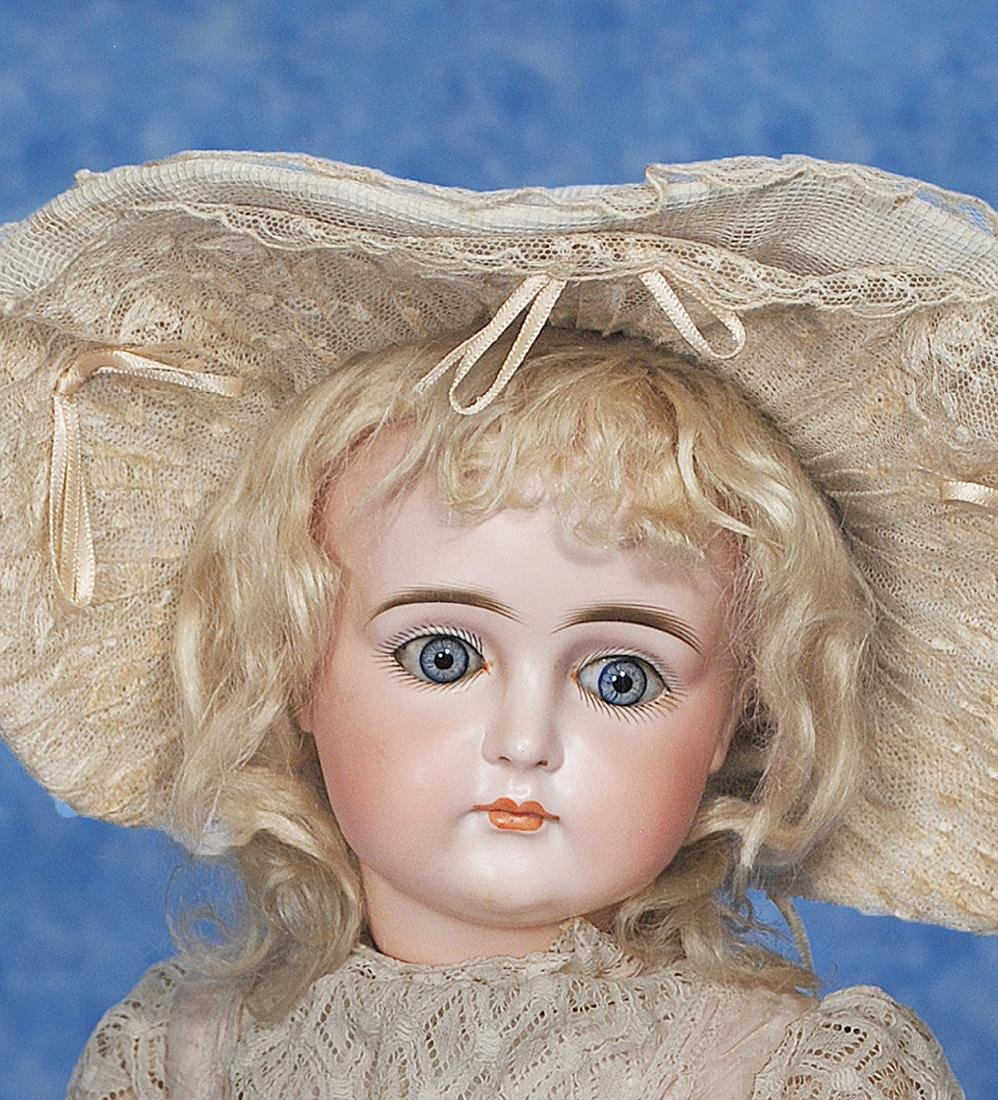 1. VERY BEAUTIFUL CLOSED-MOUTH DOLL BY KESTNER. Marks: - 2