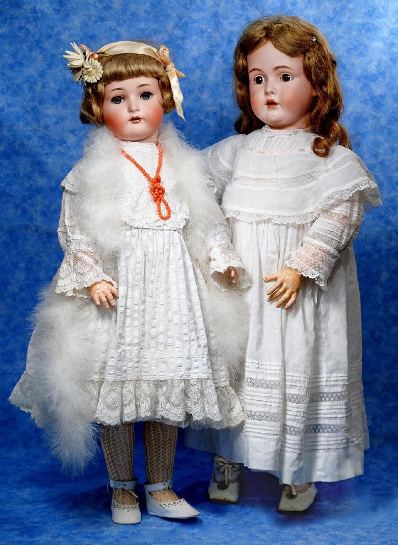 14. GERMAN BISQUE DOLL BY KESTNER. Marks: M made in