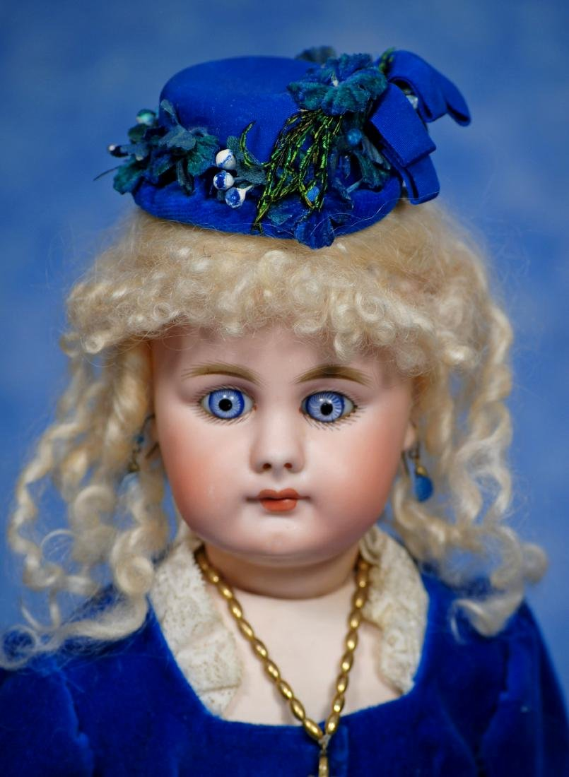 24. GERMAN BISQUE DOLL, 949, BY SIMON & HALBIG. Marks: - 2