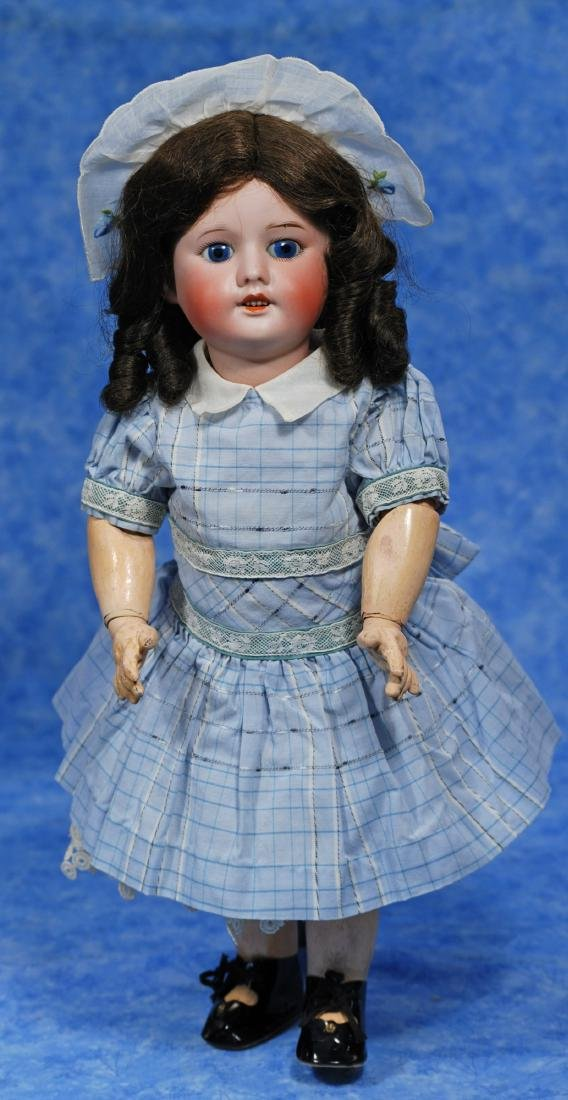 29. FRENCH BISQUE DOLL BY S.F.B.J. Marks: SFBJ 60 - 3