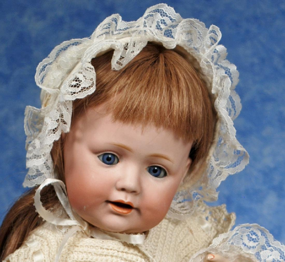 31. GERMAN BISQUE CHARACTER BABY BY KESTNER. Marks: H. - 2