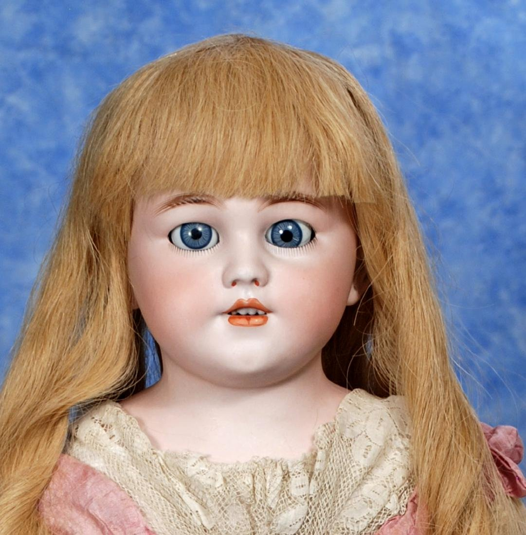 34. GERMAN BISQUE DOLL BY SIMON & HALBIG. Marks: 1250 - 2