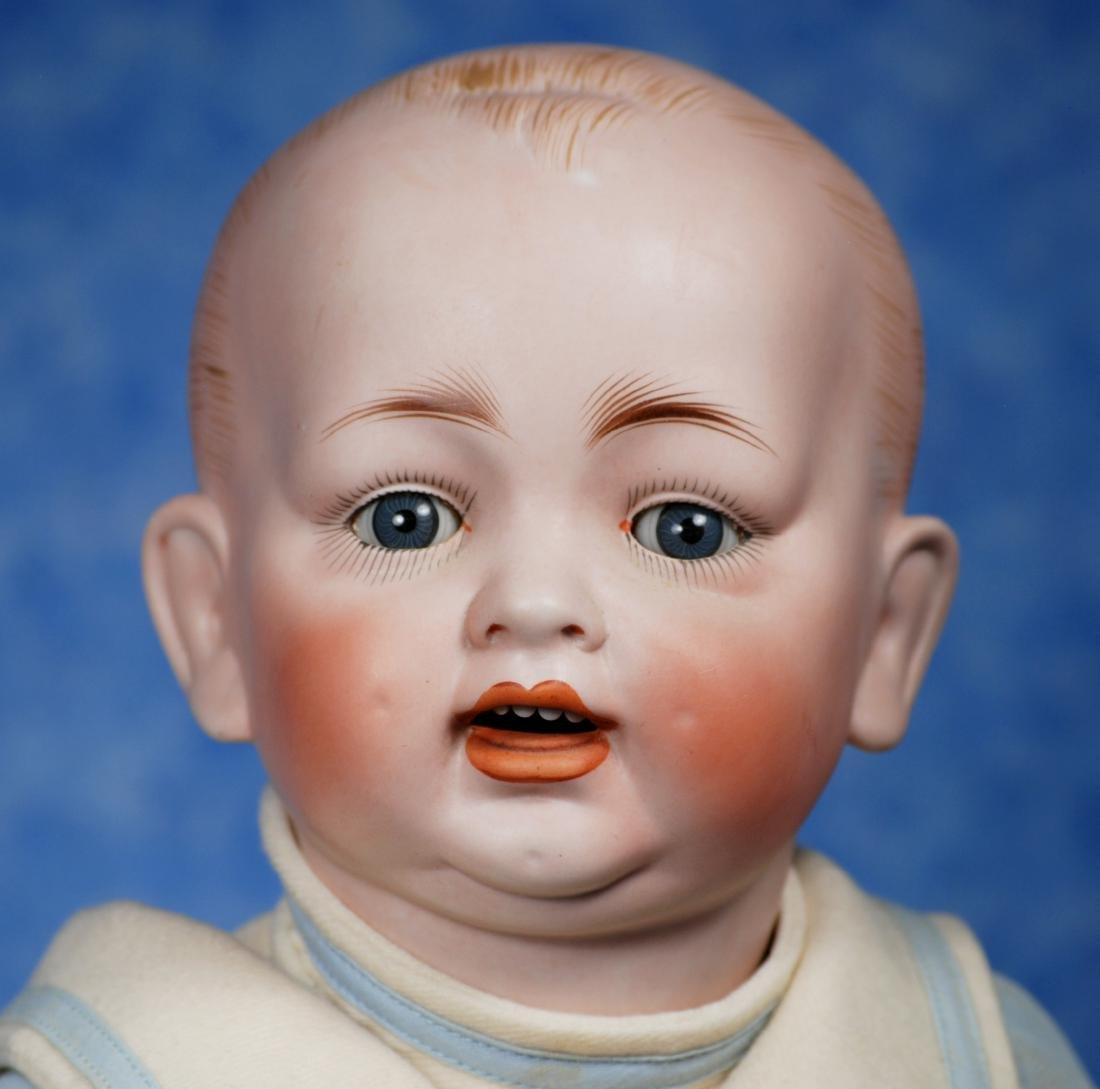 43. GERMAN BISQUE CHARACTER BABY BY HERTEL & SCHWAB. - 2